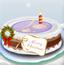 美女圣诞节蛋糕