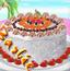 芭比制作椰子蛋糕