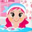 布置粉色女生浴室