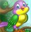 丽莎喂小鸟