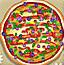 装饰美味比萨