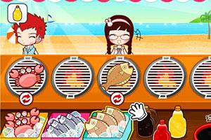 阿苏的夏日烧烤节