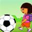 朵拉踢足球