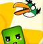 愤怒的小鸟与彩色方块