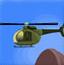直升机降落