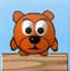 刺猬斗小熊