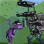 机器人射猴子