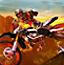 越野摩托车拼图