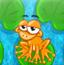 青蛙踩荷叶