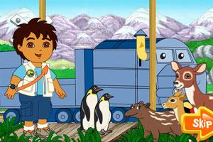 迭戈火车运送小动物