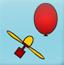 吹气球吃金币