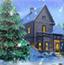 圣诞节雪地找数字