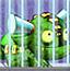 囚笼宝宝吃西瓜