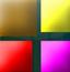 彩色像素块