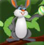 兔子送鸡蛋