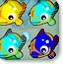 可爱小鱼对对碰