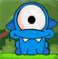 蓝色大眼怪