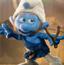 愤怒的蓝精灵