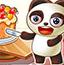 熊猫分蛋糕