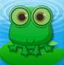 青蛙过荷叶