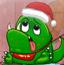 圣诞节怪物吃糖果
