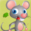 小老鼠偷吃奶酪