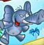 大象吹泡泡