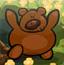 可爱泰迪熊找不同