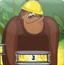 猩猩巧搬水果罐头