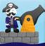海盗船长的大炮