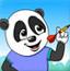 熊猫射气球