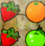 五彩水果图