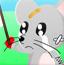 小猫打老鼠