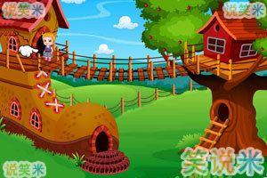可爱宝贝的树屋