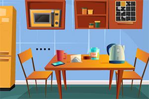 逃离漂亮的厨房