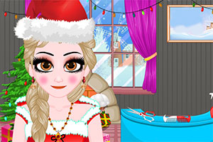 小女孩的圣诞装