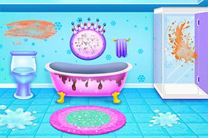 公主清洁冰城堡