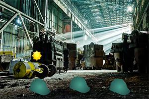 逃离大型废弃工厂