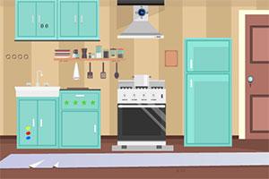 寻找厨房逃生门