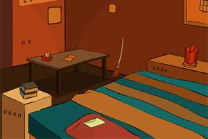 逃离橙色调房屋4