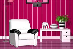 逃离粉色调房子