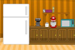 被困于厨房中
