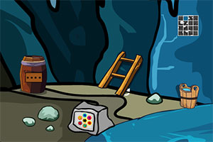 逃离诡异山洞