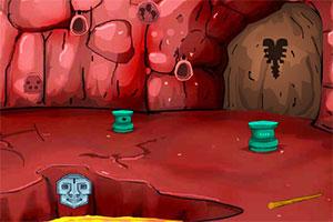 红色洞穴逃亡