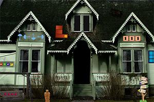 逃离黑暗的房屋