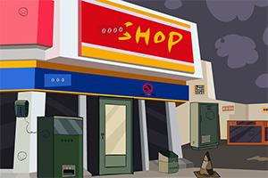 逃离废弃超市