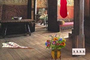 中世纪卧室逃生