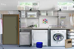 逃离整洁的洗衣房