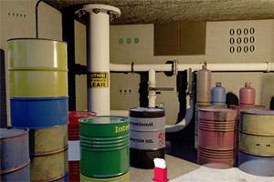 逃离石油储存室