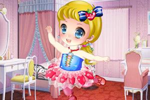 甜美女孩学跳舞